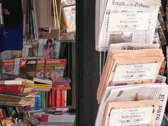 Kiosque à journaux.  ©Source: Wikipédia