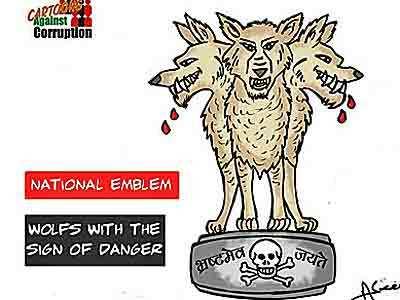 Aseem Trivedi, cartoonist qui cartonne façon indienne…