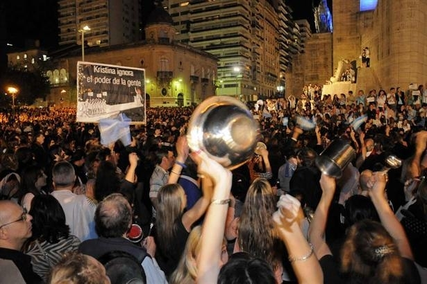 Argentine : 200.000 manifestants contre Cristina Kirchner