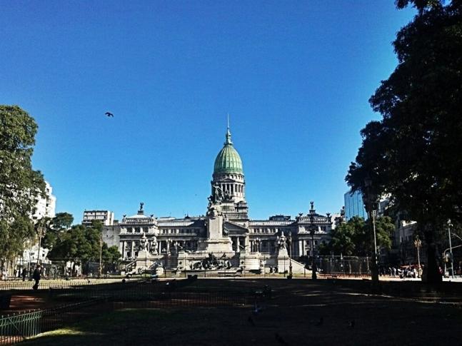 Le Parlement argentin à Buenos Aires