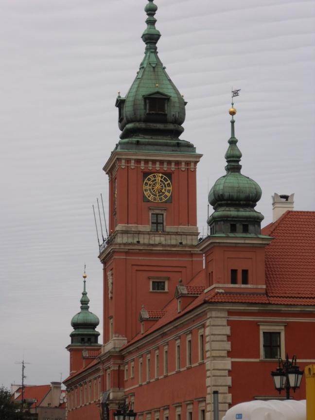 Le château royal de Varsovie