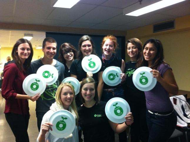 Flash mob à l'Université de Montréal pour la Journée mondiale de l'alimentation