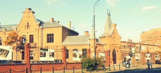 L'ancienne distillerie Koneser située dans le quartier Praga