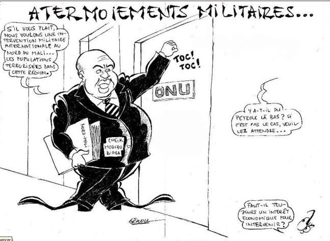 Intervention militaire à tête chercheuse !