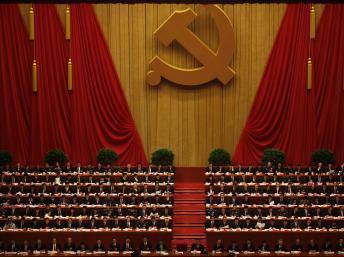 L'assemblée des 2270 délégués du 18e Congrès du PCC. REUTERS/Carlos Barria