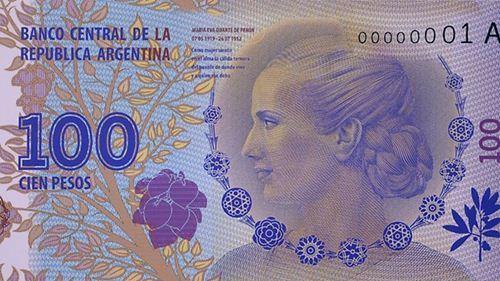 Argentine : la mémoire d'Eva Peron exaltée sur les billets de banque