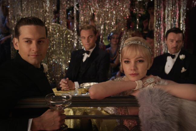 Gatsby le Magnifique avec Leonardo DiCaprio et Tobey Maguire