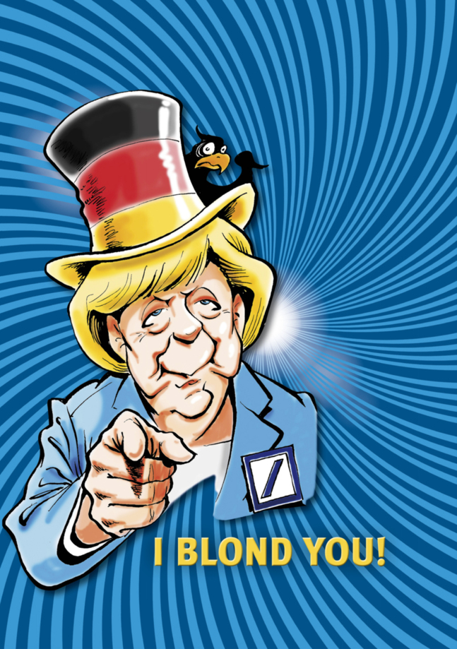 Affiche du spectacle Blonde Republik Deutschland