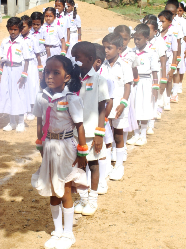 Une école de l'espoir pour les jeunes Indiens défavorisés
