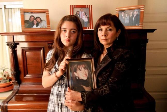 Susana Trimarco et sa petite-fille Micaela