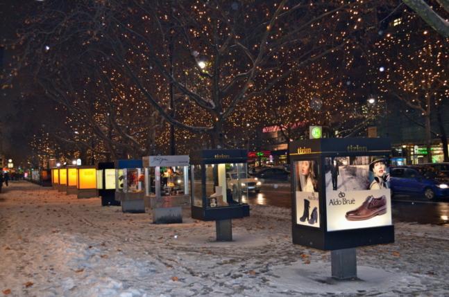La Ku'Damm, les Champs Elysées berlinois