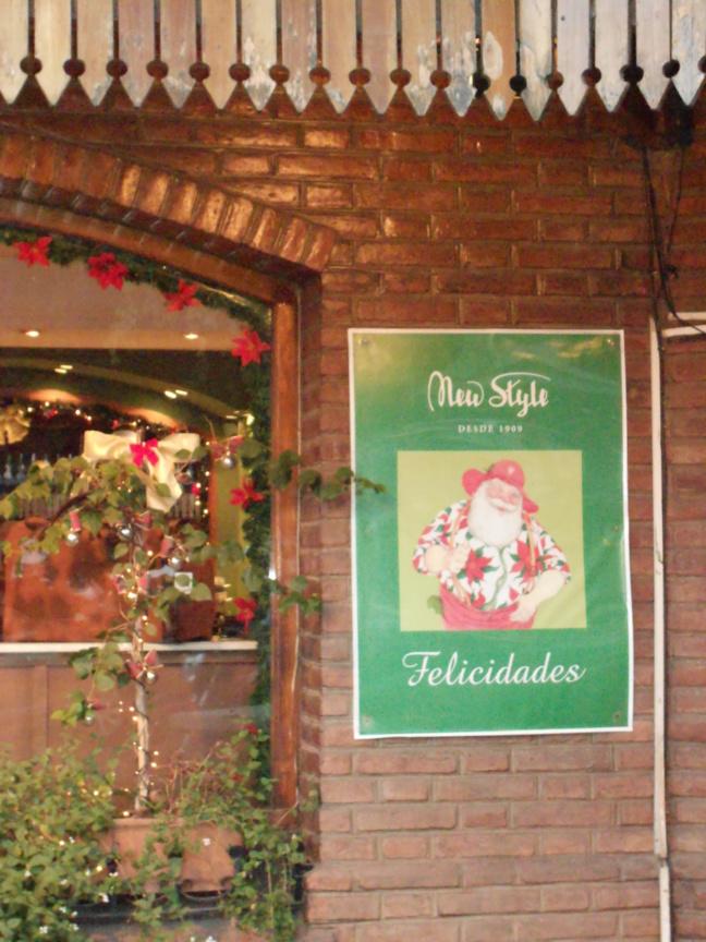 40° C pour le Père Noël argentin