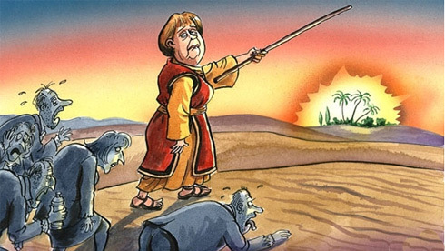 Allemagne : la politique européenne des petits pas
