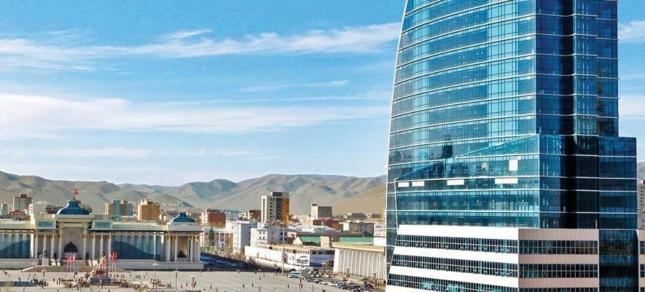 Oulan Bator, capitale de la Mongolie, considérée comme le Dubaï d'Asie centrale