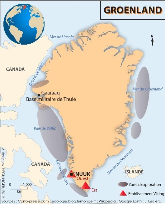 Groenland : un environnement menacé… depuis 980