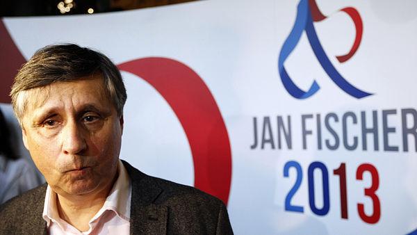 Le candidat indépendent Jan Fischer, favori de la compétition, n'a pas recu assez de votes pour passer à la deuxième tour