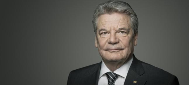 Joachim Gauck, Président de la République fédérale allemande.