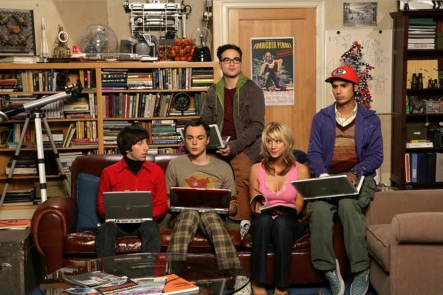 La culture geek portée à son apogée,avec la série The Big Bang Theory.