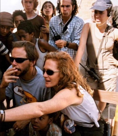 L'équipe de tournage de La Cité de Dieu (2003).