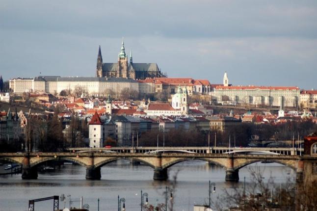 Le Chateau de Prague - c´est là où se trouve le bureau du Président. Milos Zeman commencera à y travailler le 8 mars