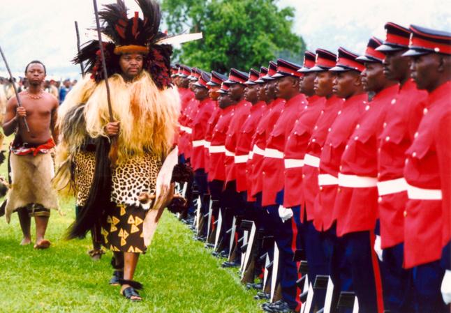 Le roi Mswati III est a la tête d'une fortune estimée à 100 millions d'euros