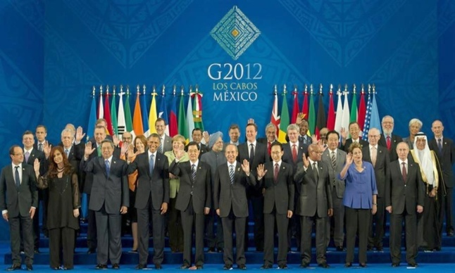 G20 2012 au Mexique