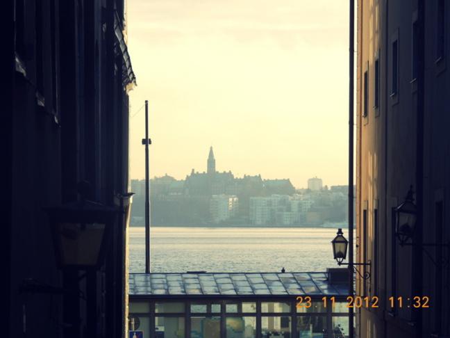J'ai connu le coup de foudre à Stockholm