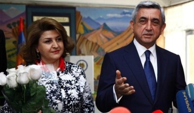 Serge Sarkissian, président sortant et grand favori