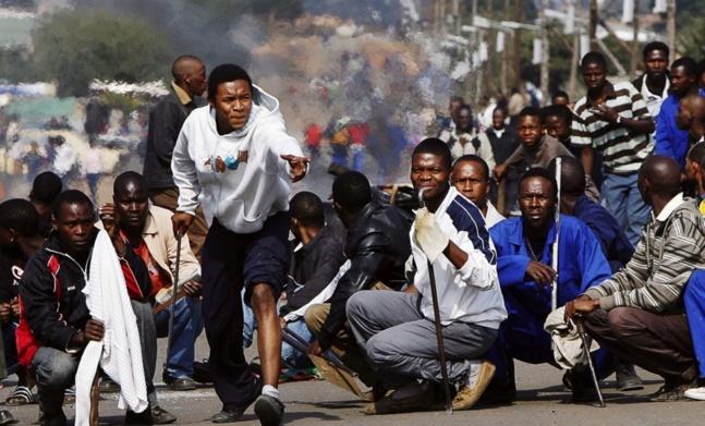 Afrique du Sud : « vous entrez dans une zone dangereuse »