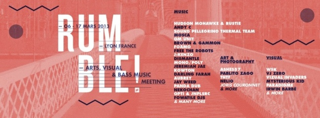 Troisième édition du Rumble Festival : Arts, visual & Bass music meeting