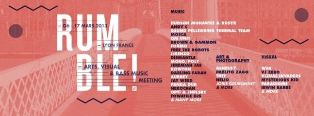 Troisième édition du Rumble Festival: Arts, visual & Bass music meeting