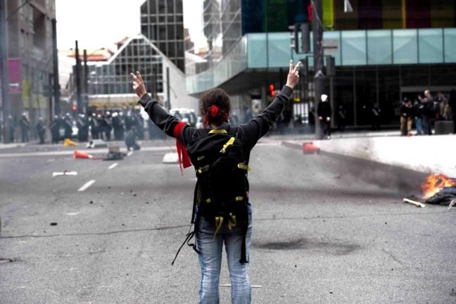 «Paix et Chaos» - Manifestation Plan Nord 20 avril 2012 - Pascal Dumont - Le Grand Souffle