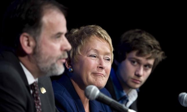 «Narquoisement» - Annonce du sommet sur l'éducation - 8 novembre 2012 - Pascal Dumont - Le Grand Souffle