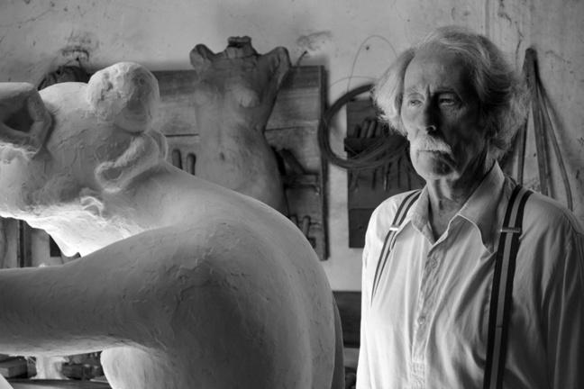 L'artiste et son modèle, un hommage à l'esthétisme.