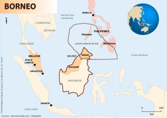 Guerre de Bornéo : l'île convoitée