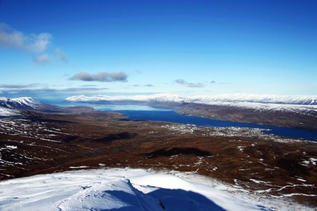 Vue du mont Sulur, au nord de l'Islande (Crédits Photos Anthony Manzi)