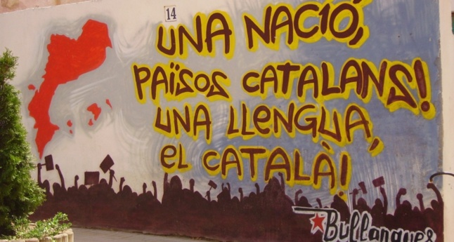 Grafitti à Vilassar de Mar, Catalogne