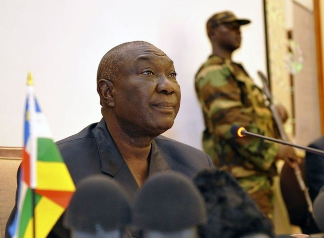 Michel Djotodia, leader du Séléka, le 29 mars 2013 à Bangui   Photo : Agence France-Presse Sia Kambou