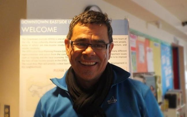 Scott Clark, the executive director of ALIVE's organisation in Vancouver (Crédits photo — Elisa Juszczak)