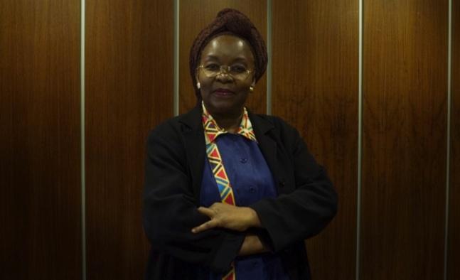 Me Alice Nkom, célèbre au Cameroun pour son activisme en faveur de la dépénalisation de l'homosexualité | Crédits photos — Bertrand Gaudillère