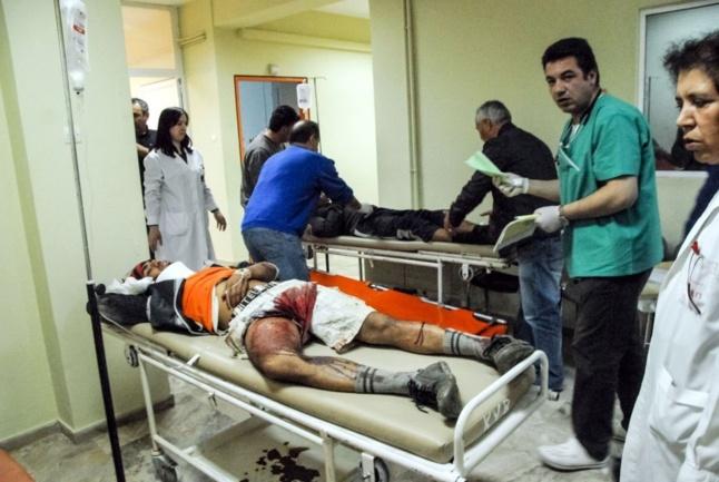 Fraises grecques: le prix du sang à Manolada