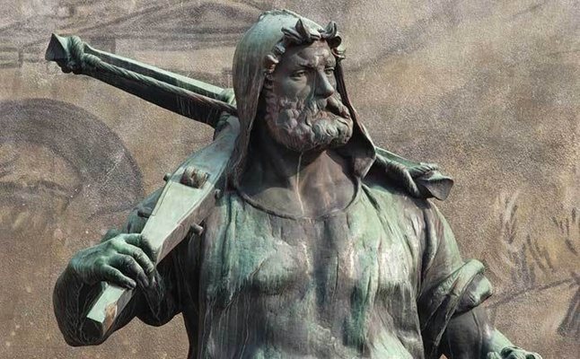 Guillaume Tell, légendaire héros de l'indépendance helvétique