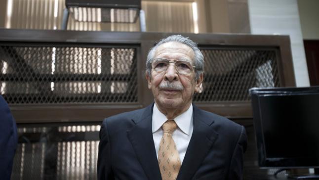 Guatemala : reprise du procès de l'ancien dictateur Efraín Ríos Montt