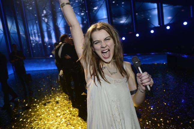 Emmelie de Forest, gagnante de l'Eurovision 2013