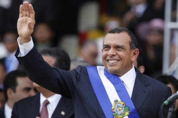 Porfirio Lobo Sosa, président du Honduras depuis le 27 janvier 2010