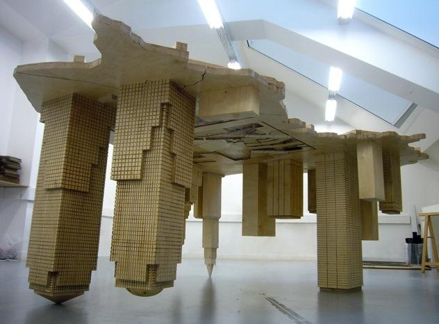 François Mazabraud, Les dessous de table, 2009, © François Mazabraud