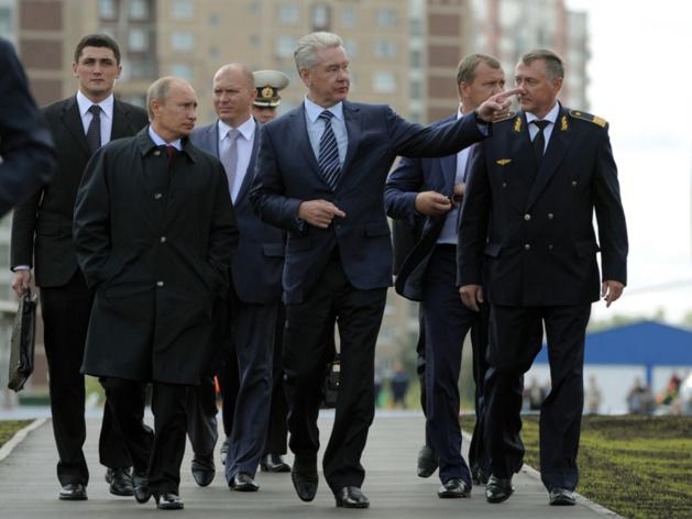 Avec Sobianine, Poutine reste maire de Moscou