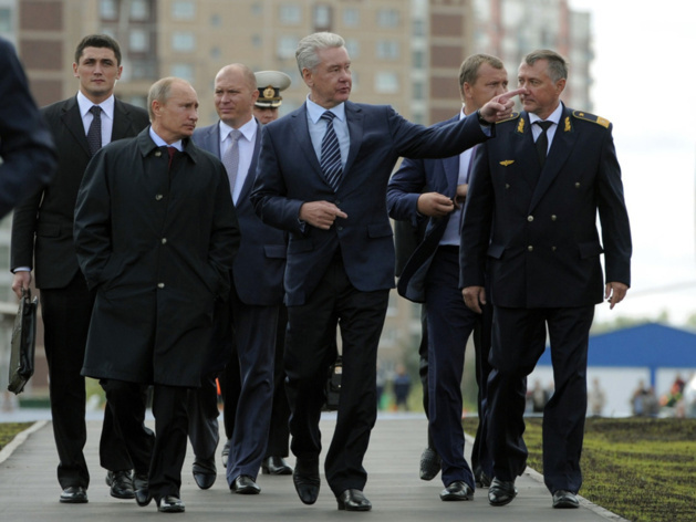 With Sobyanin, Putin remains mayor of Moscow