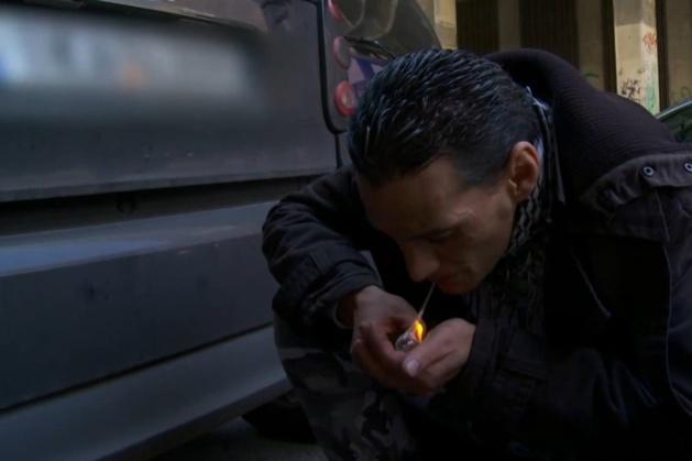 Extrait du documentaire « Sisa, la cocaïne des pauvres » (Capture d'écran)