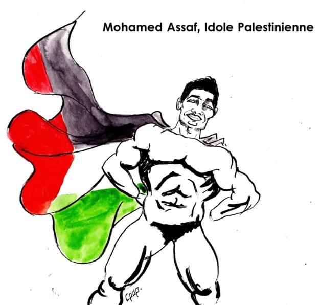 Mohamed Assaf, l'Arab Idol qui en met plein la vue aux Palestiniens